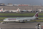 AXT747HNDさんが、羽田空港で撮影したカタールアミリフライト A340-313Xの航空フォト(写真)