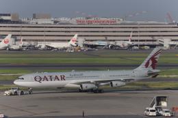 AXT747HNDさんが、羽田空港で撮影したカタールアミリフライト A340-313Xの航空フォト(飛行機 写真・画像)