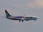 なまくら はげるさんが、羽田空港で撮影したスカイマーク 737-81Dの航空フォト(写真)