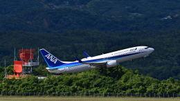 オキシドールさんが、広島空港で撮影した全日空 737-881の航空フォト(飛行機 写真・画像)