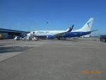 niftyさんが、デュッセルドルフ国際空港で撮影したブルー・エア 737-82Rの航空フォト(写真)