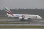 Daidai☆彡さんが、成田国際空港で撮影したエミレーツ航空 A380-861の航空フォト(写真)
