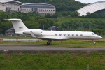 MOR1(新アカウント)さんが、福岡空港で撮影したアメリカ空軍 C-37B Gulfstream G550 (G-V-SP)の航空フォト(写真)