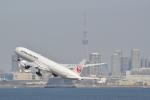 なめくじさんが、羽田空港で撮影した日本航空 777-346/ERの航空フォト(写真)