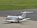 ナナオさんが、石見空港で撮影した国土交通省 航空局 525C Citation CJ4の航空フォト(写真)