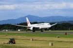 花巻空港 - Hanamaki Airport [HNA/RJSI]で撮影された日本航空 - Japan Airlines [JL/JAL]の航空機写真