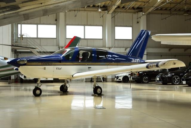 =JAかみんD=さんが、調布飛行場で撮影した日本エアロテック TB-9 Tampicoの航空フォト(飛行機 写真・画像)