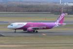 kuro2059さんが、新千歳空港で撮影したピーチ A320-214の航空フォト(飛行機 写真・画像)