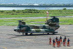 Gambardierさんが、岡南飛行場で撮影した航空自衛隊 CH-47J/LRの航空フォト(写真)
