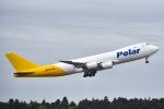 Yukipaさんが、成田国際空港で撮影したポーラーエアカーゴ 747-87UF/SCDの航空フォト(写真)