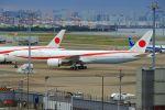 ふるちゃんさんが、羽田空港で撮影した航空自衛隊 777-3SB/ERの航空フォト(写真)