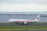 まきっち!さんが、羽田空港で撮影した航空自衛隊 777-3SB/ERの航空フォト(写真)