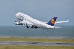EC5Wさんが、中部国際空港で撮影したルフトハンザドイツ航空 747-430の航空フォト(飛行機 写真・画像)
