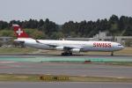みっしーさんが、成田国際空港で撮影したスイスインターナショナルエアラインズ A340-313Xの航空フォト(写真)