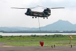 Gambardierさんが、岡南飛行場で撮影した陸上自衛隊 CH-47Jの航空フォト(写真)