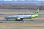 kuro2059さんが、新千歳空港で撮影したジンエアー 737-8SHの航空フォト(飛行機 写真・画像)