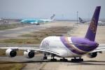 HK Express43さんが、関西国際空港で撮影したタイ国際航空 A380-841の航空フォト(写真)