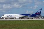 zettaishinさんが、マイアミ国際空港で撮影したラタム・エアラインズ・チリ 767-316/ERの航空フォト(写真)