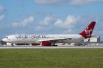 zettaishinさんが、マイアミ国際空港で撮影したヴァージン・アトランティック航空 A330-343Xの航空フォト(写真)