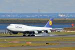 szkkjさんが、羽田空港で撮影したルフトハンザドイツ航空 747-830の航空フォト(写真)