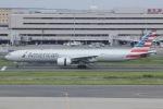 しゃこ隊さんが、羽田空港で撮影したアメリカン航空 777-323/ERの航空フォト(写真)