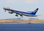 ふじいあきらさんが、羽田空港で撮影した全日空 777-281の航空フォト(写真)