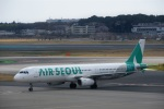 エルさんが、成田国際空港で撮影したエアソウル A321-231の航空フォト(写真)