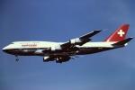 tassさんが、成田国際空港で撮影したスイス航空 747-357の航空フォト(写真)