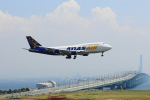 @あきやんさんが、関西国際空港で撮影したアトラス航空 747-446(BCF)の航空フォト(写真)
