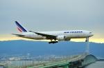 @あきやんさんが、関西国際空港で撮影したエールフランス航空 777-228/ERの航空フォト(写真)