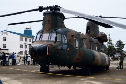kij niigataさんが、高田駐屯地で撮影した陸上自衛隊 CH-47JAの航空フォト(写真)