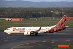 funi9280さんが、新千歳空港で撮影したマリンド・エア 737-8GPの航空フォト(写真)
