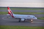EC5Wさんが、中部国際空港で撮影したユニバーサルエンターテインメント A318-112 CJ Eliteの航空フォト(写真)
