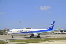 しかばねさんが、那覇空港で撮影した全日空 767-381/ERの航空フォト(飛行機 写真・画像)