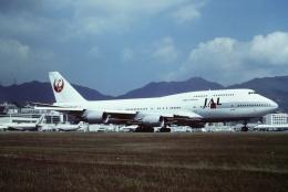 tassさんが、啓徳空港で撮影した日本航空 747-446の航空フォト(写真)