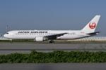 冷やし中華始めましたさんが、関西国際空港で撮影した日本航空 767-346/ERの航空フォト(写真)