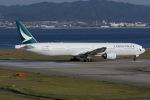 冷やし中華始めましたさんが、関西国際空港で撮影したキャセイパシフィック航空 777-367の航空フォト(写真)