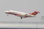 Koenig117さんが、関西国際空港で撮影したHanhwa Airlines BD-100-1A10 Challenger 300の航空フォト(写真)
