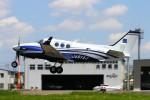 LOTUSさんが、八尾空港で撮影したアジア航測 C90GTi King Airの航空フォト(写真)