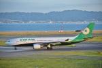 kurubouzuさんが、関西国際空港で撮影したエバー航空 A330-203の航空フォト(写真)