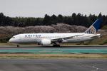 xingyeさんが、成田国際空港で撮影したユナイテッド航空 787-8 Dreamlinerの航空フォト(飛行機 写真・画像)