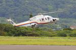 オポッサムさんが、八丈島空港で撮影した東邦航空 S-76C+の航空フォト(写真)