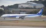 鉄バスさんが、福岡空港で撮影した全日空 777-381の航空フォト(写真)