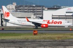 kan787allさんが、福岡空港で撮影したタイ・ライオン・エア 737-8GPの航空フォト(写真)