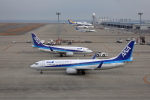 奈良ン児さんが、中部国際空港で撮影した全日空 737-881の航空フォト(写真)