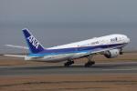奈良ン児さんが、中部国際空港で撮影した全日空 777-281/ERの航空フォト(写真)