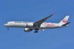 islandsさんが、羽田空港で撮影した日本航空 A350-941XWBの航空フォト(写真)