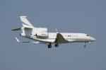 mogusaenさんが、成田国際空港で撮影したUNITED TECHNOLOGIES CORP Falcon 7Xの航空フォト(飛行機 写真・画像)