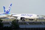 レドームさんが、羽田空港で撮影した全日空 777-F81の航空フォト(写真)