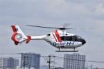 ヘリオスさんが、東京ヘリポートで撮影した中日本航空 EC135P2+の航空フォト(写真)